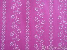 Dirndlstoff ♥ Baumwolle pink Trachten Stoff Blümchen Blumen Trachenstoff Ranken