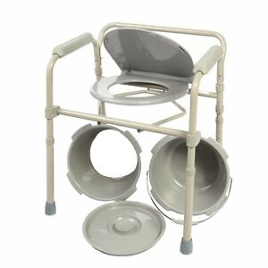 Commode Chair Folding Bedside Chair Commode With Commode