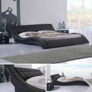 Polsterbett Bettgestell Doppelbett Designer Bett Raul 160x200 R00b