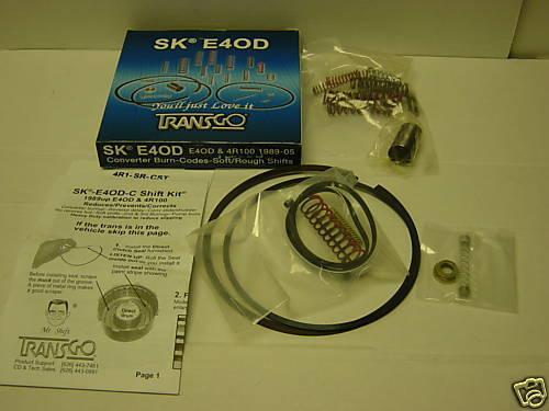 E40D 4R100 Transgo Shift Kit