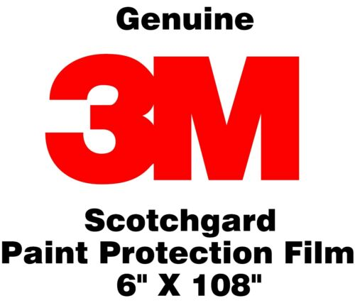 Genuine 3M Scotchgard Paint Protection Film Clear Bra Bulk Roll Film 6/'/' x 108/""