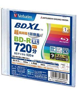 Verbatim-bluray-BD-R-XL-100GB-blu-ray-1-disc-Inkjet-BDXL-4X-Speed-blank-media