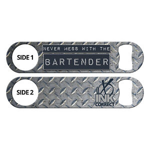 Never-Mess-Bartender-Silver-Pink-Copper-Ink-Correct-Speed-Bottle-Openers-Bar-Key