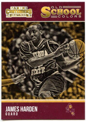 James Harden #13 PANINI CONTENDERS 2015 Old School couleurs Basketball carte C2453