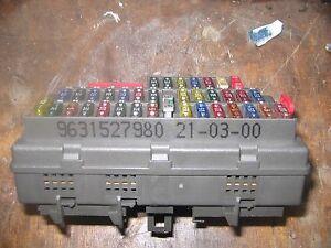peugeot 806 fuse box wiring diagram home 2003 Impala Heater Box Location