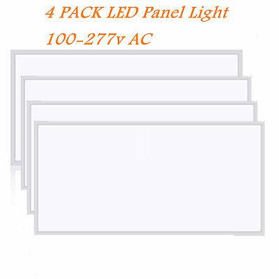 5000K Day White 60W 2-Pack 2x4 FT LED Panel Light Drop Ceiling Light 7100LM