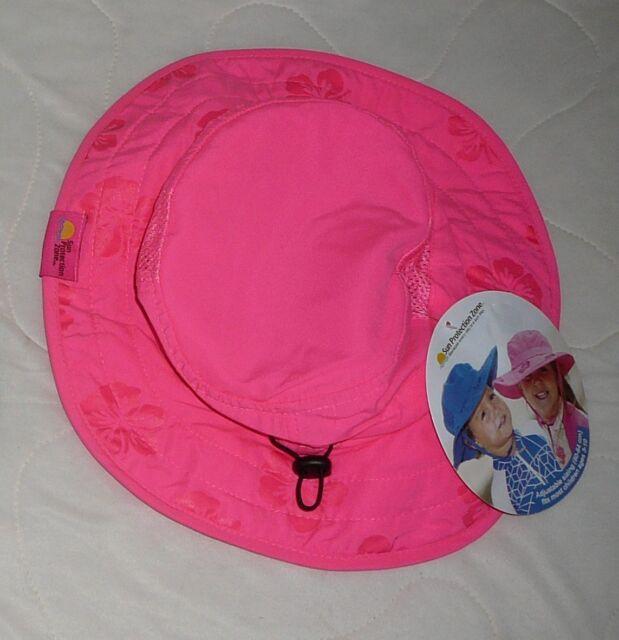 2pk Kids Safari Hat Sun Protective Zone UPF 50 Child Block UV Rays ... 7b0fb0e2d439