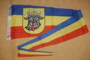 Fahne Flagge Nordfriesland 3 Koggen mit 2 Ösen 90 x 150 cm