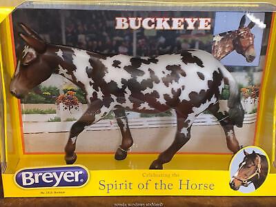 1816 Spotted Mule Dressage Traditional Model Horse Buckeye Breyer NEW