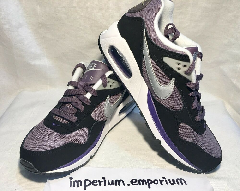 Femme Nike Air Max Correlate Entrainement Baskets Violet/Argent Taille UK 4-