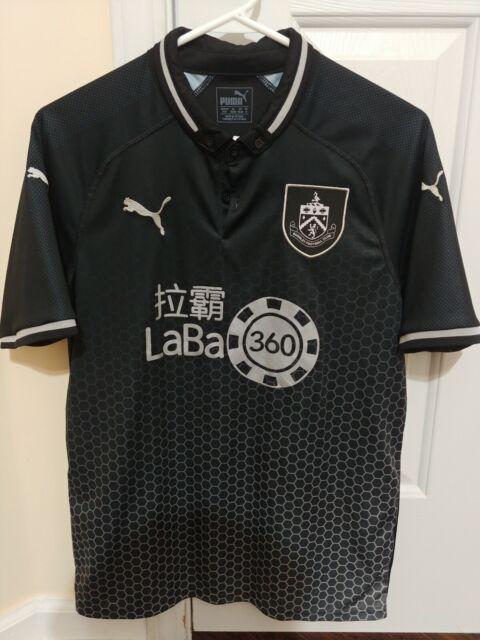 Puma Premier League Burnley FC 2018/19 Away Black Jersey ...