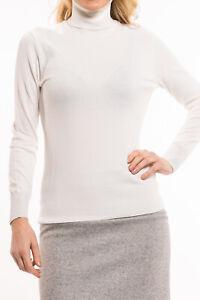 super popular c1a75 f389f Details zu SPORTALM - LeonoraFF Rollkragenpullover Damen weiß Designer  Glitzer Neu: 160 €