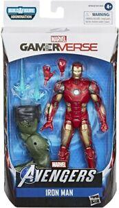 Marvel-Legends-6-034-gamerverse-Iron-Man-Avenger-Spiel-exklusive-Tony-Stark-Ruestung