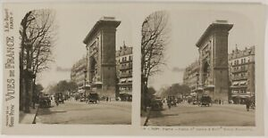 París Llaveros Saint-Denis Foto ThL3n35 Estéreo Vintage Analógica