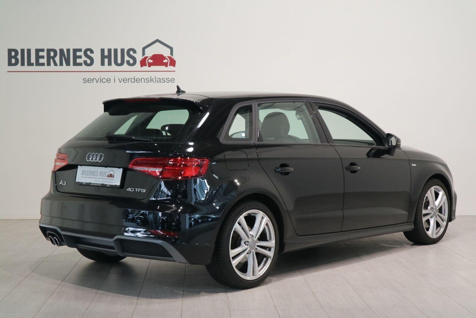 Audi A3 40 TFSi Sport Limited Sportback S-tr. - billede 1