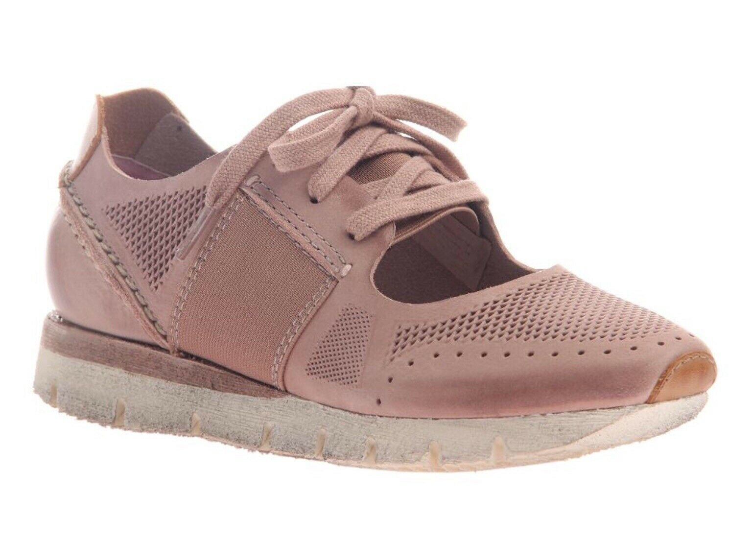 NEW OTBT Star Dust in bluesh Pink Leather Size Women's 8-1 2
