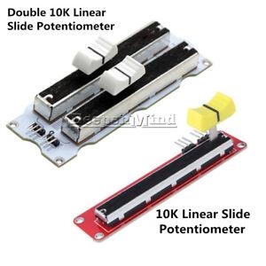 10K-Double-Single-Linear-Slide-Potentiometer-Module-Arduino-Electronic-Block