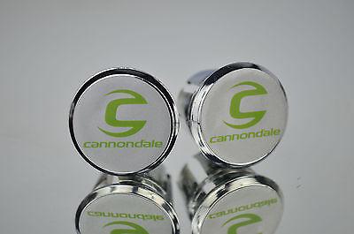 New Cannondale Handlebar End Plugs Bar Caps vintage guidon bouchons calotte