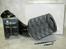 """Universal 3.5"""" Diameter Carbon Fiber Short Ram Air Intake + Sensor Adapter Kit"""