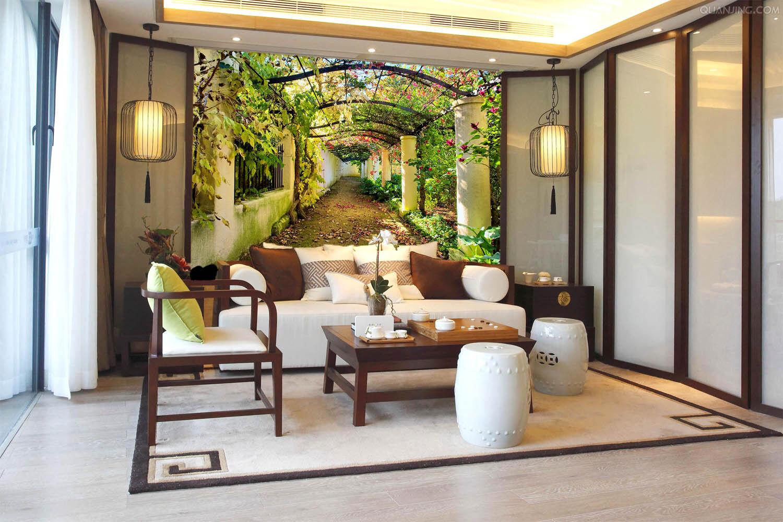 3D Garten Promenade 855 Tapete Wandgemälde Tapete Tapeten Bild Familie DE Summer    Wir haben von unseren Kunden Lob erhalten.    Perfekte Verarbeitung    Züchtungen Eingeführt Werden Eine Nach Der Anderen