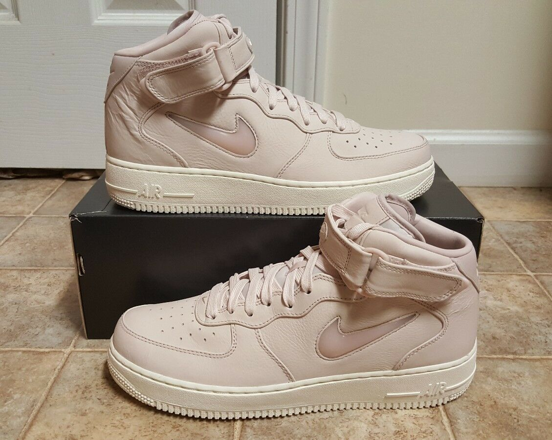 Nike Air Force 1 Mid Retro Prm Jewel Men's Sz 9 NEW 941913 600 High Low SF QS