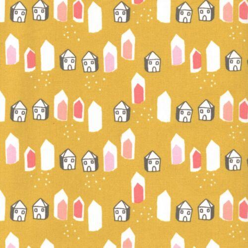 Cotton Fabric Houses Potty Garden Kids Patchwork OEKO-TEX Fox Grove