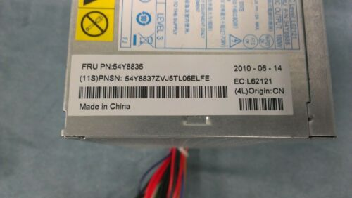 Genuine Lenovo ThinkCentre Lite On 180W 54Y8835 Power Supply