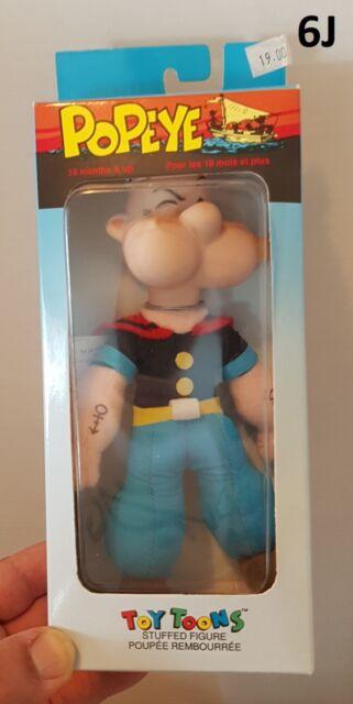 "Popeye Figural Christmas Ornament Approx 4/"" MIB   FREE Shipping"
