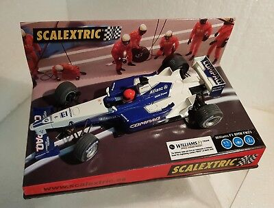 Kinderrennbahnen Brilliant Qq 6096 Scalextric Williams F1 Bmw Fw 23 '01 #6 Montoya Compaq To Ensure Smooth Transmission