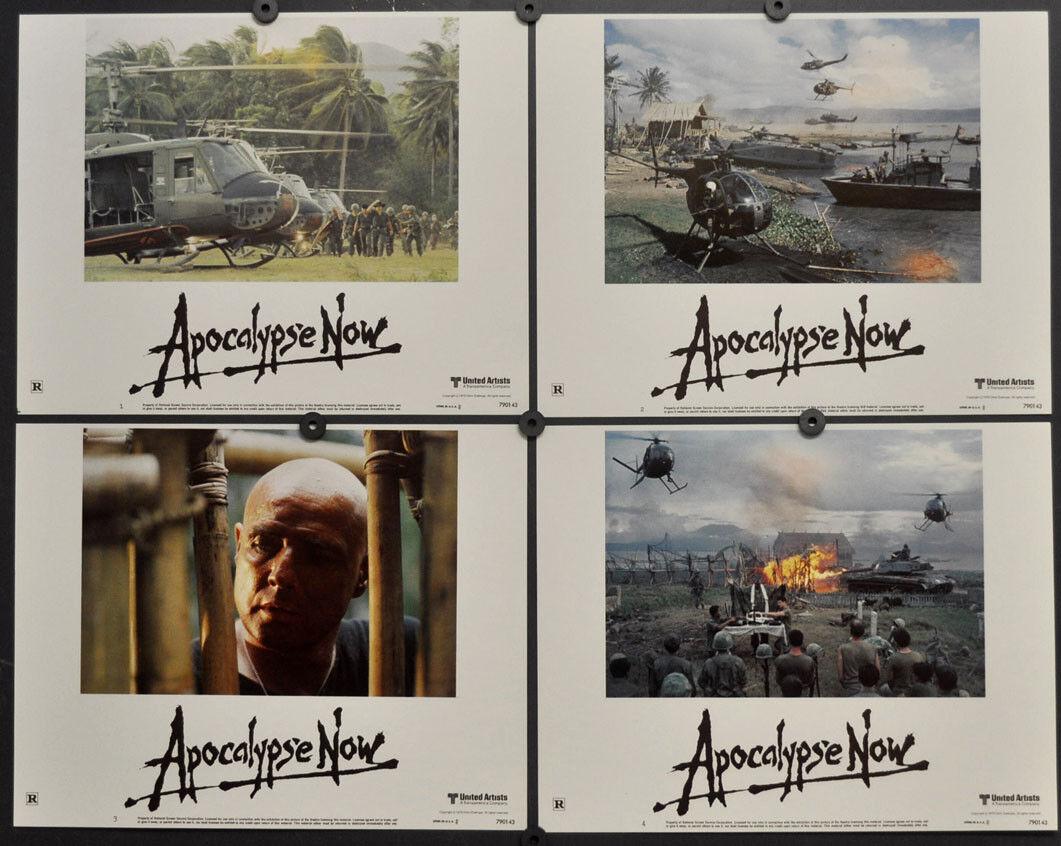 Apocalypse Now Now Now 1979 Original 11X14 Lobby Karte Set Marlon Brando Martin Sheen  | Online Outlet Shop  84a5c2