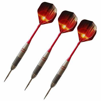 3pcs//1 set Stainless steel tip darts 24g aluminum Shafts Fast NEW Exquis V3J2