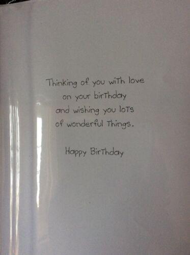 Boyfriend Birthday Hand Made Style Large Card