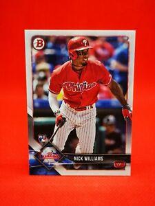 Topps 2018 carte card Baseball MLB NM+/M Philadelphia Phillies #73 Nick Williams