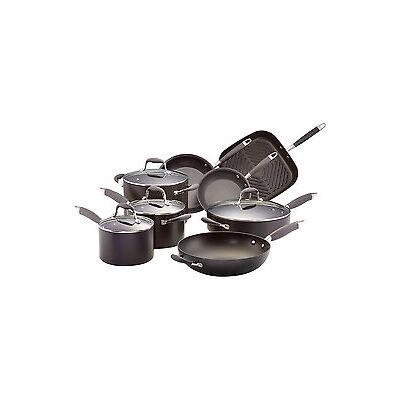 NEW Anolon Advanced 8 Piece Non-Stick Cookware Set