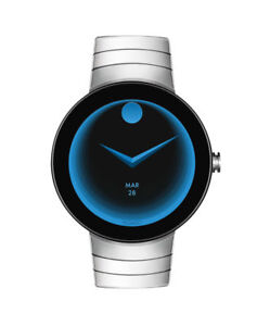 New Movado Connect Stainless Steel Strap Unisex Smart Watch 3660017