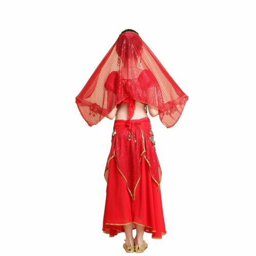 Children Belly Dance Performance Top Skirt Costume Girl/'s Halloween Party Outfit
