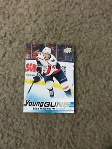 Beck-Malenstyn-2019-20-Upper-Deck-Series-2-Young-Guns-480-Rookie-RC-Capitals