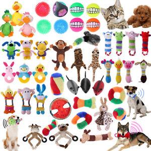 Pet-Dog-Cat-Plush-Chew-Teeth-Squeaker-Squeaky-Sound-Interactive-Training-Fun-Toy