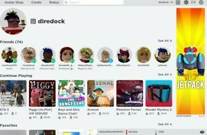 ✓ Stacked Roblox Account Robux in Account Super Cheap