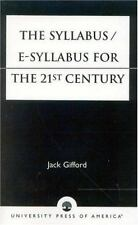 The SyllabusE-Syllabus for the 21st Century