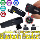 Bluetooth Headset Earphone HD 720P Spy Camera Mini DVR DV Video Audio Recorder U