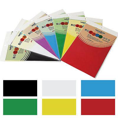 WHASHIN Color Rubber Magnet Board 200 x 300 mm White Board Door