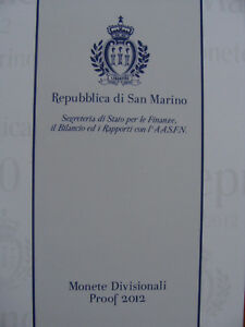 KMS San Marino 2012, Prof. im Originaletui mit 2€ Gedenkmünze, sehr selten - Dresden, Deutschland - KMS San Marino 2012, Prof. im Originaletui mit 2€ Gedenkmünze, sehr selten - Dresden, Deutschland
