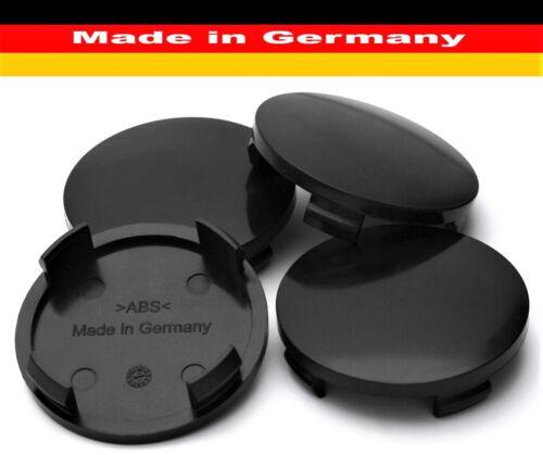 Nabenkappe 60 56 mm Radkappe Alufelge Zierkappe Rial Alutec Anzio Schwarz x 4
