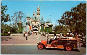 DISNEYLAND California Postcard SLEEPING BEAUTY CASTLE w ...