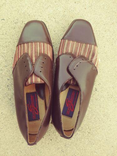 Sz Dress Giorgio Mens Oxfords Brutini Pin New Casual Brand b5 Scarpe Stripe 8 ZrHrvIxqwU