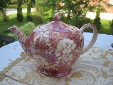 #A77 TEA POT Royal Winton Grimwades cranberry brocade rosebud Made in England