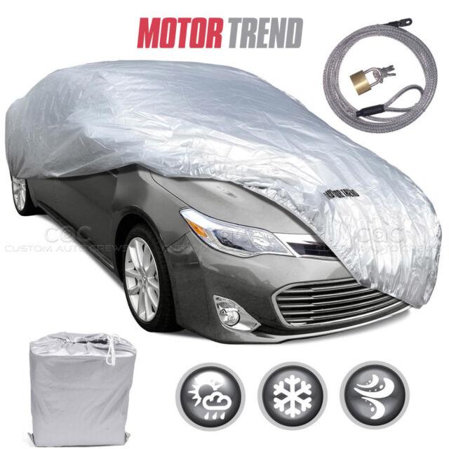 Waterproof Car Cover >> Motor Trend All Season Complete Waterproof Car Cover Fits Up To 228 W Lock