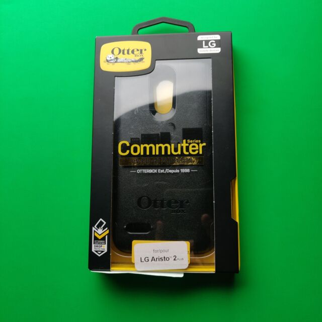 new product 772bb a997a OTTERBOX Commuter Case Daily Protection for LG Aristo 2 Black Ho257