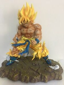 Toys & Hobbies Dragon Ball Z Dbz Super Saiyan Goku Vs Frieza Statue Gk Resin Figure In Stock